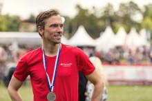 Johan Olsson till start på Lidingöloppet – satsar på att slå sin egen rekordtid från 2017.