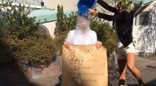 Reseguidens VD Michael Blaxland i #IceBucketChallenge