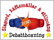 Slagord, käftsmällar & stilpoäng - debattboxning under Göteborgs Kulturkalas