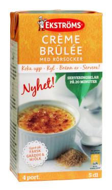 Lansering av kylda desserter från Ekströms