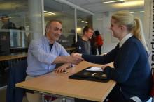 Lyckat samarbete på Hermods rekryteringsevent