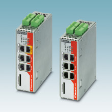 Security-ruter med integrert switch