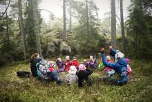 Invigning av förskolan  I Ur och Skur Oxdragaren i Habo