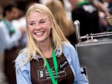 Gabriella Höglund från Sverige, topp 4 i Starbucks EMEA Barista Championship 2015