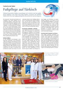 Gerlach in der Türkei: Fußpflege auf Türkisch