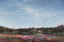 Färg och realism på vårens Fullersta gård