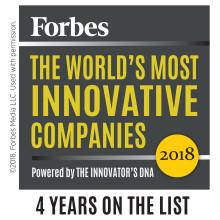 Aptus ingår i en av världens mest innovativa koncerner enligt Forbes lista 2018