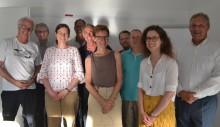 DIAKONIE: Arbeitskreis der Initiative Jobbrücke / PATENMODELL trifft sich auf HdWM-Campus – Prof. Rupert Felder trägt über Digitalisierung vor