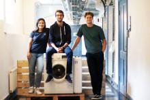 Startupen Mimbly förändrar vår vattenkonsumtion - nu kliver de in i Chalmers Ventures Acceleratorprogram.
