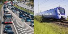 3 500 pendlare tog tåget istället