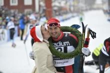 Andreas Nygaard från Team Santander vinner Vasaloppet!
