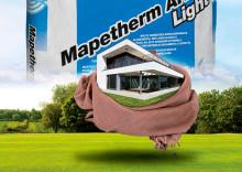 Ny alt-i-ett mørtel fra Mapei til isolasjon