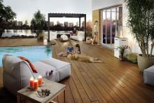 Premiere auf der GALABAU:  Modifiziertes Terrassenholz mit bauaufsichtlicher Zulassung von Kebony