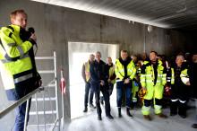 Rejsegilde på Sønderjysk Biogas i Danmark