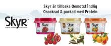 Nyhet i mejerihyllan:  Nya krämigare Skyr™ utan tillsatt socker