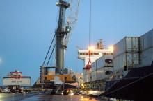 Ännu en containerkaj öppnar i Helsingborgs Hamn