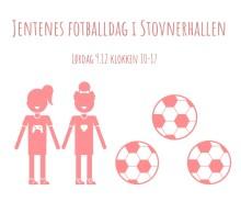 Fotballdag for jenter