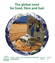 The global need for food, fibre and fuel – ny publikation