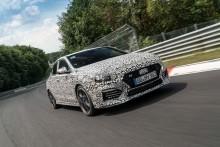 Hyundai förbereder lansering av nästa N-modell: Nya i30 Fastback N