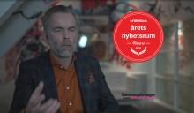 Bemanningsföretagen vann tävlingen Årets Nyhetsrum 2014. Se Hans Uhrus kommentera vinsten.