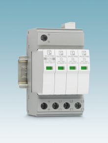 The world's narrowest type 2 surge protection free of leakage current