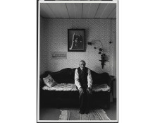 New Acquisition: Portrait of retired farmer P.A. Söderström, by Sune Jonsson