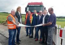 Netzausbau für die Energiezukunft: Das Bayernwerk verlegt in Kirchenthumbach im Landkreis Neustadt an der Waldnaab 20-kV-Mittelspannungskabel neu unter der Erde.