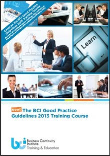 New Good Practice Guidelines (GPG) Training Course released by the Business Continuity Institute (BCI)