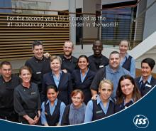 ISS rankas som världens bästa outsourcingleverantör för andra året i rad!