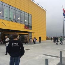 OnePartnerGroup besöker IKEA i Zagreb, Kroatien.