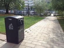 Miljöeffektiviteten ökar i staden med hjälp av BigBelly