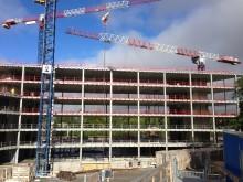 Combisafe stärker fallskyddet inom Uppsala universitets stora byggprojekt