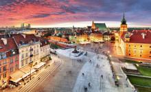 Ny direktlinje till Warszawa från Göteborg Landvetter