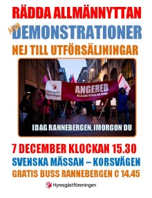 Rädda allmännyttan i Rannebergen!