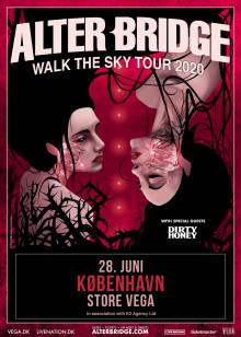 Hard rock bandet Alter Bridge vender tilbage til Danmark til juni.