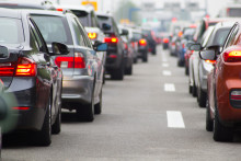 Traffic congestion costs UK businesses an estimated £767 million a year