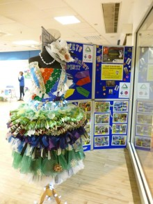 Recycled designs go on show in Bury