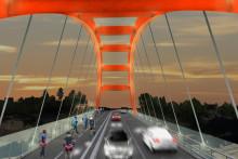 Pressinbjudan: Invigning av den nya bron på Västberga Allé