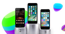 Top 10: De mest solgte mobiler i februar