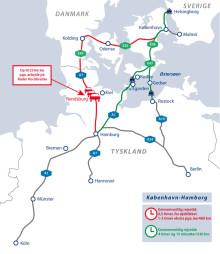 Undgå stau og forsinkelser på den tyske motorvej A7 – snup genvejen via Rødby-Puttgarden