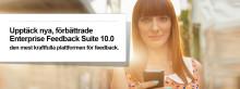 QuestBack lanserar Enterprise Feedback Suite 10.0  - den mest kraftfulla plattformen för feedback