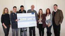 Erlös des Azubi-Adventszaubers der V&B Fliesen GmbH für guten Zweck – SOS Kinderdorf Saar in Merzig-Hilbringen erhält 1.500 EURO