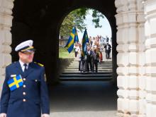 Kronprinsessparet deltar i medborgarskapsceremoni i Uppsala