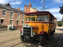 New Venture for accessible Beamish bus