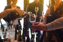 Vinprovning av skånska viner på Radisson Blu Metropol Hotel i Helsingborg.