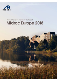 Midroc Europe Annual Review and Sustainability Report 2018