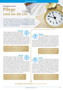 Pflege rund um die Uhr: Der Biorhythmus der Haut