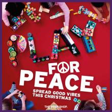 Denne jul inviterer The Body Shop dig med til THE PEACE PLAY PROJECT