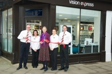 New vision for Ludlow opticians as Vision Express opens its doors