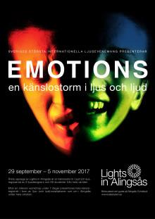Känslor i fokus under årets Lights in Alingsås